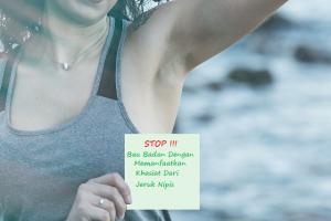 Manfaat Jeruk Nipis Untuk Menghilangkan Bau Badan
